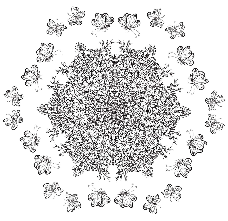 Colouring In Mandala