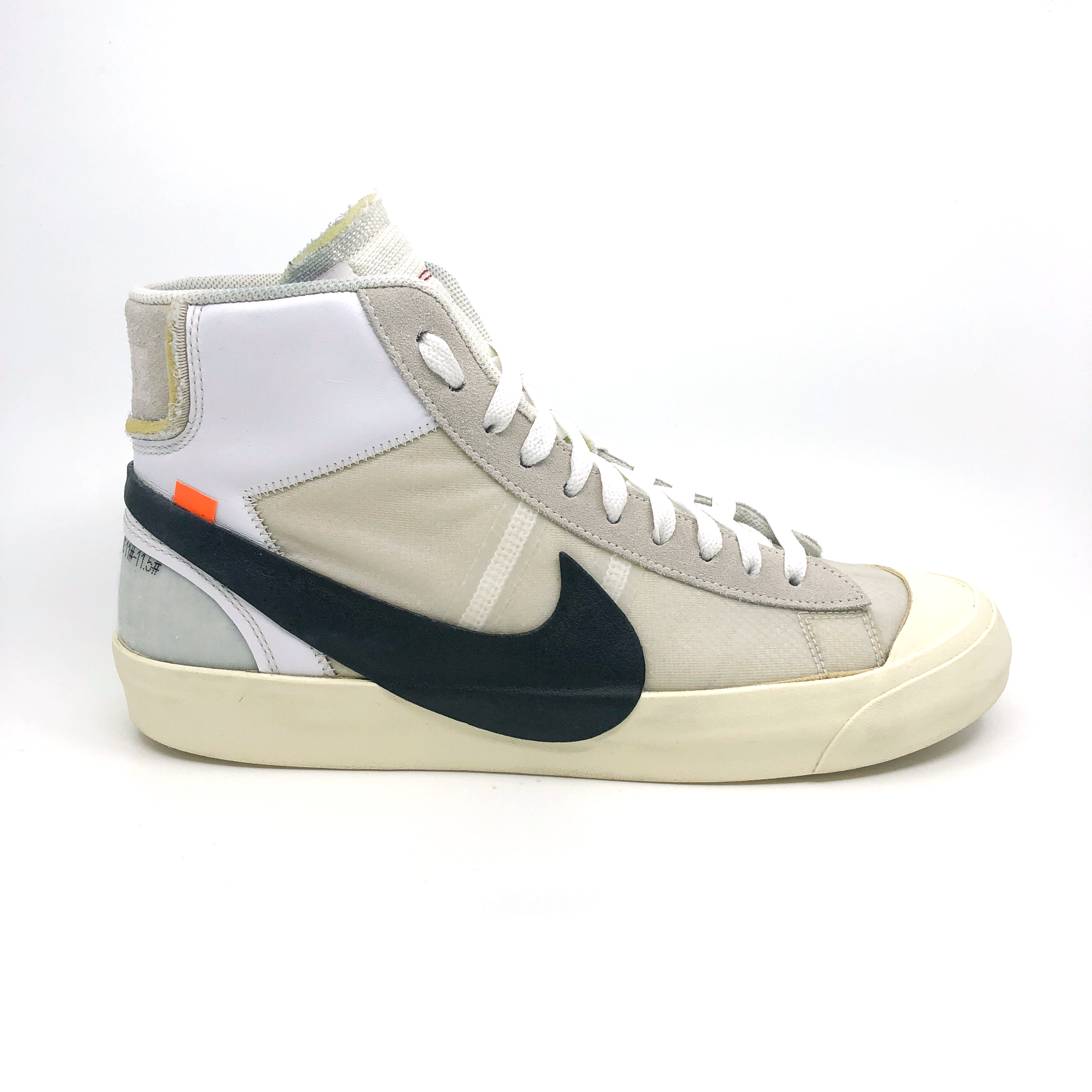 OFF-WHITE X NIKE BLAZER MID  AFTER