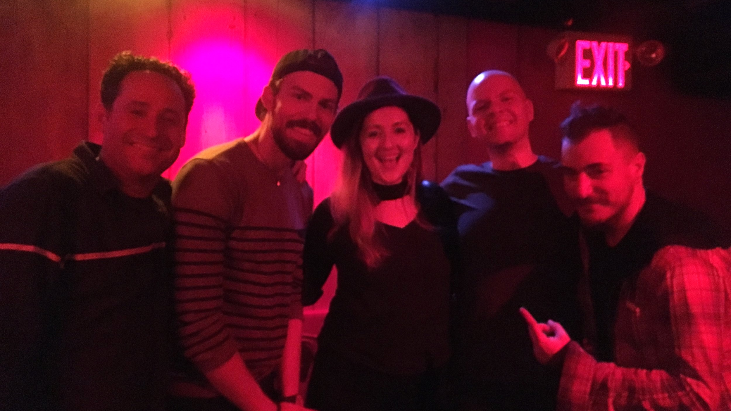 With Project Trio, Rockwood Music Hall 2018