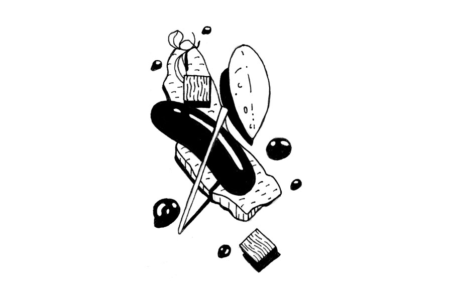 Stick and Poke design Doodle