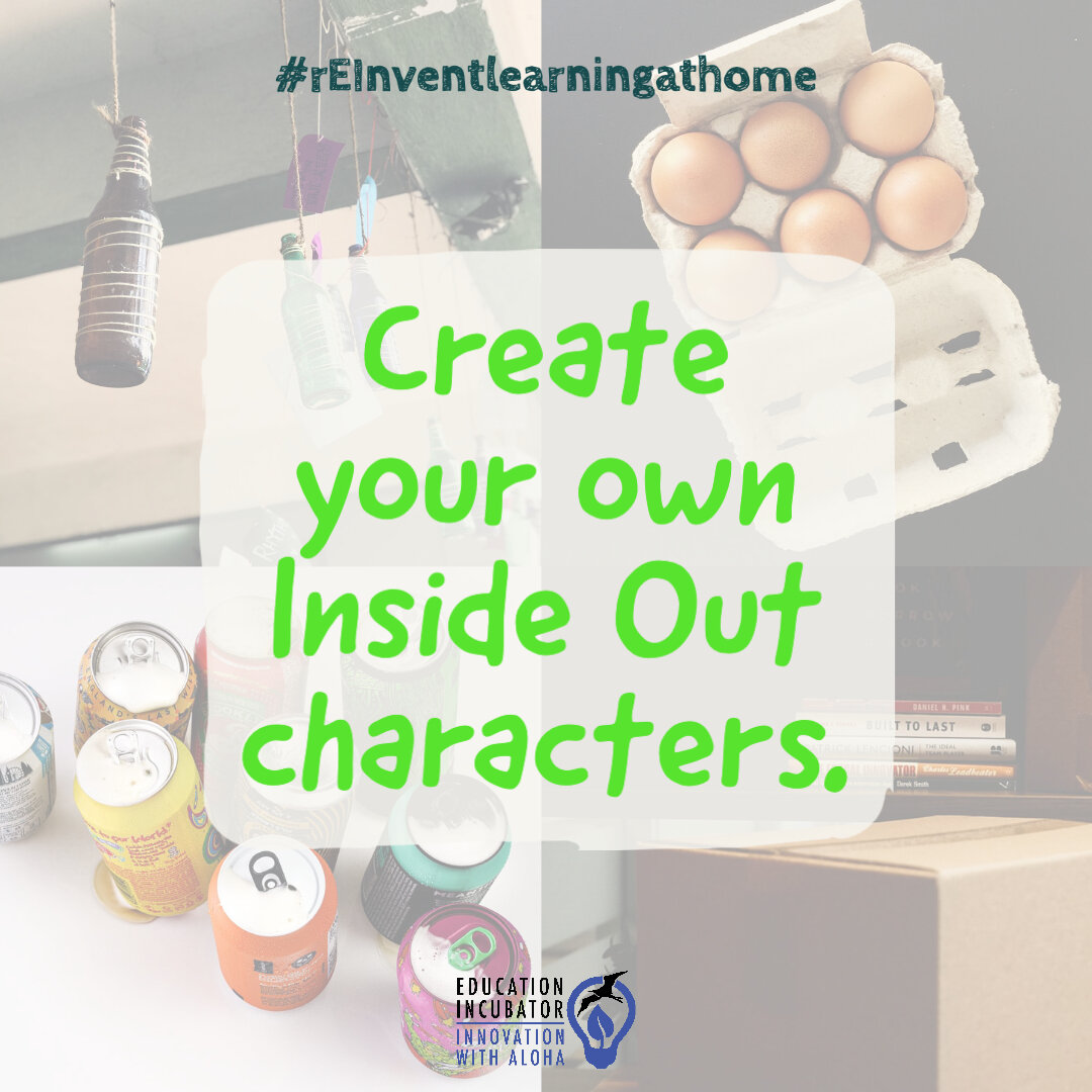 Create Your Own Inside Out Characters Education Incubator