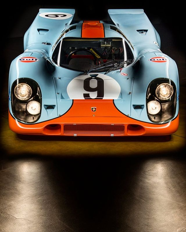 917-004. The first 927K to complete a full race, and the most period correct 917 in existence. #porsche #917 #917k #endurance #gulf