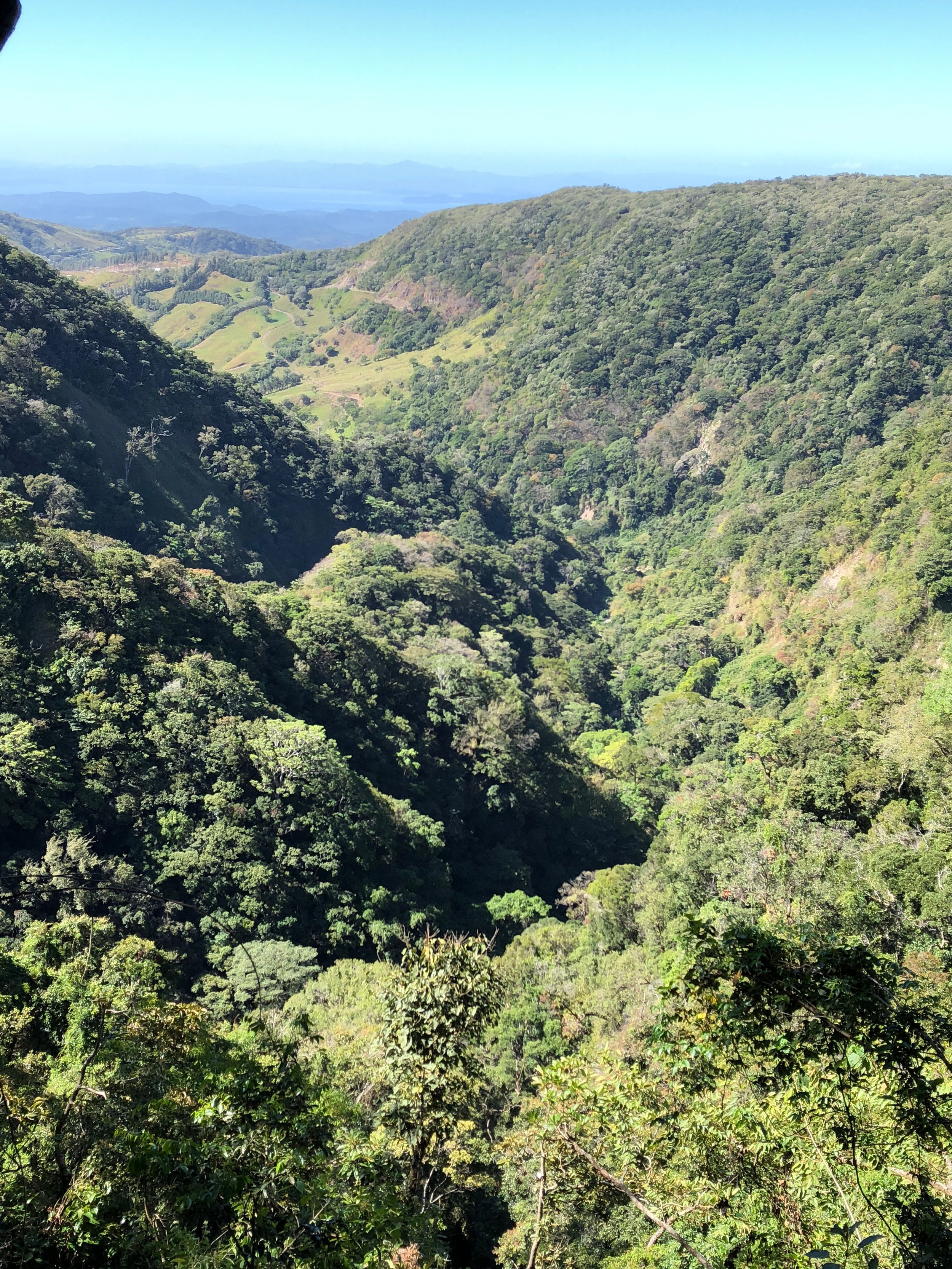 View of Nicoya Gulf at Monte Verde