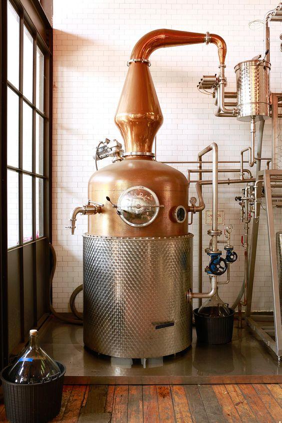 Widow Jane Distillery's pot still