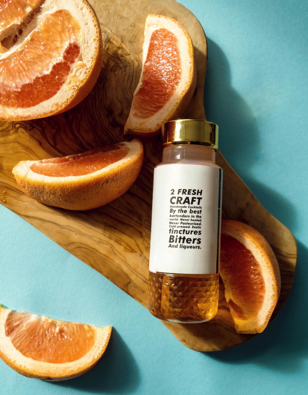 Twist. Shake. Pour. - Pre-bottled, un-mixed cocktails. Twist to mix it fresh.