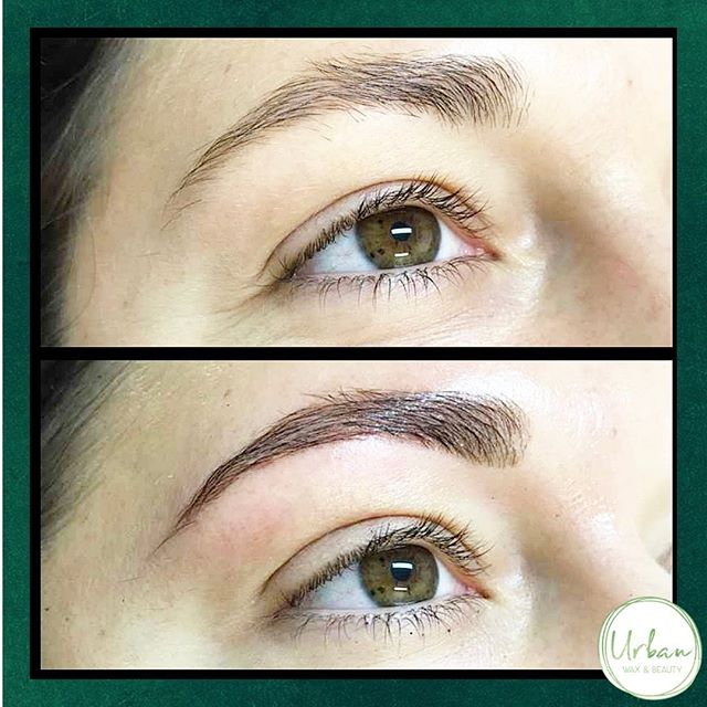 Another great Henna treatment 🙌🏻✨ . $60 +brow wax $70 . . . #henna #hennabrow #brows #definition