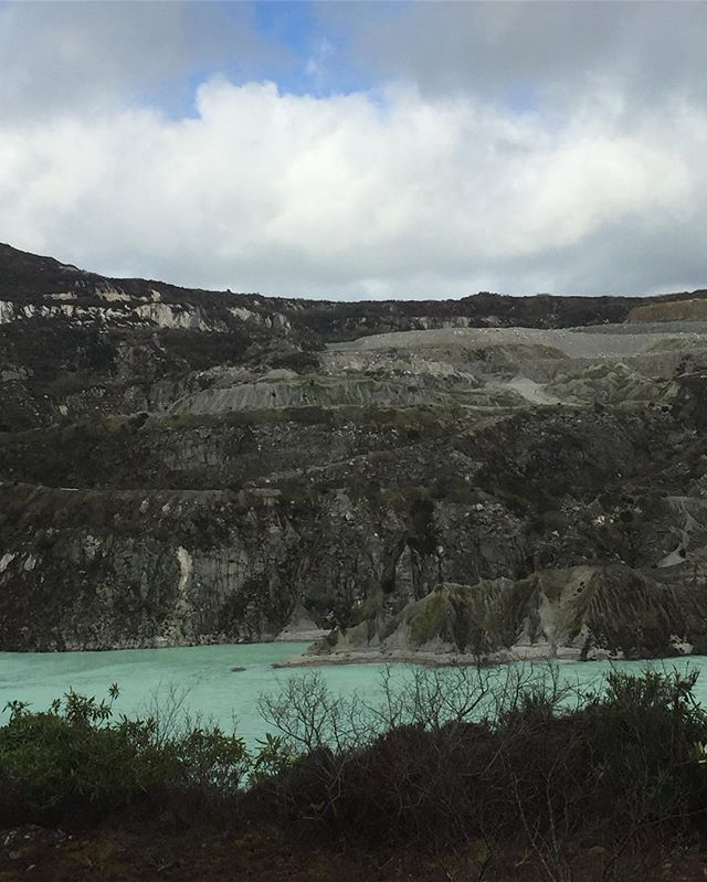 China Clay Country near Eden.  #cornwall #eden #chinaclay #landscape