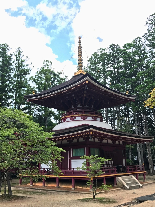Another temple in the Danjo Garan complex in Mt. Koya, Japan