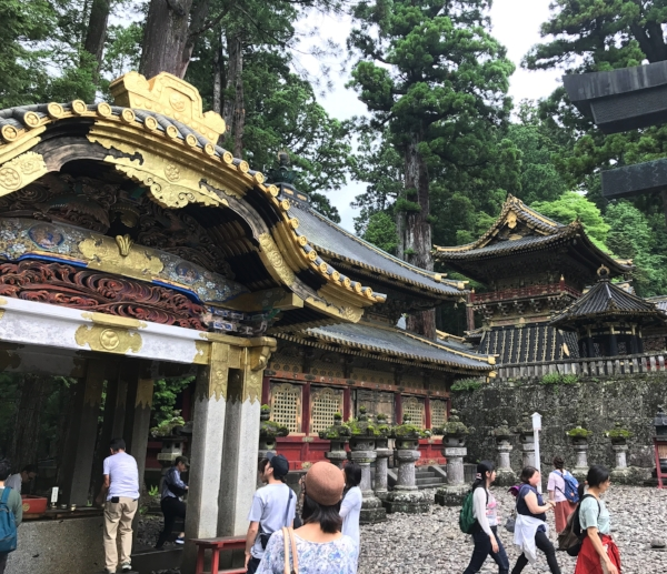 Village of shrines and temples in Nikko, Japan. I love these intricate details!