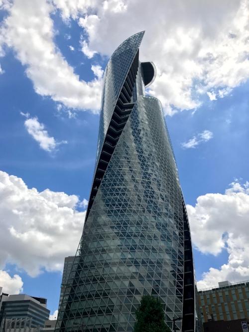 Mode Gakuen Spiral Towers in downtown Nagoya, Japan