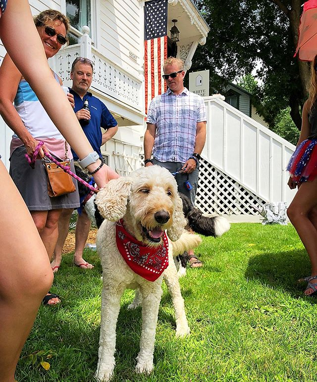 Parade, Music & Fireworks @liberty_tree_farm, Family, Food @stockholmvillagebistro, Nation....all the things we love about this week! #4thofjuly #smalltowncelebrations #whitehouseinn #vacationrental #vrbo #stockholmwisconsin #discoverwisconsin #travelwisconsin