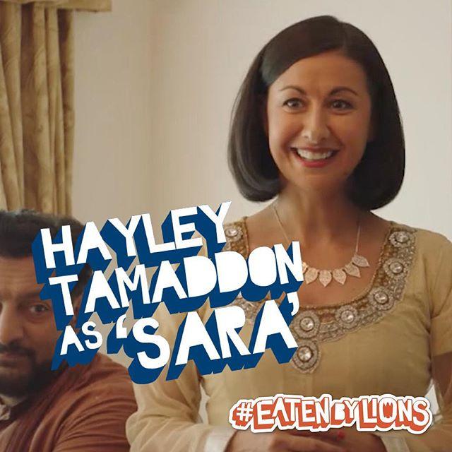 Hayley Tamaddon as Sara 🦁🎬 #eatenbylions