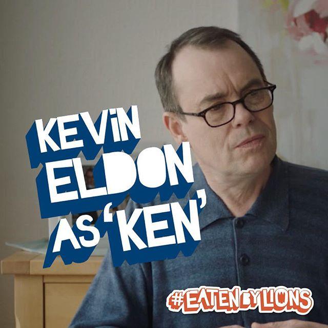 Kevin Eldon as Ken 🦁🎬 #eatenbylions