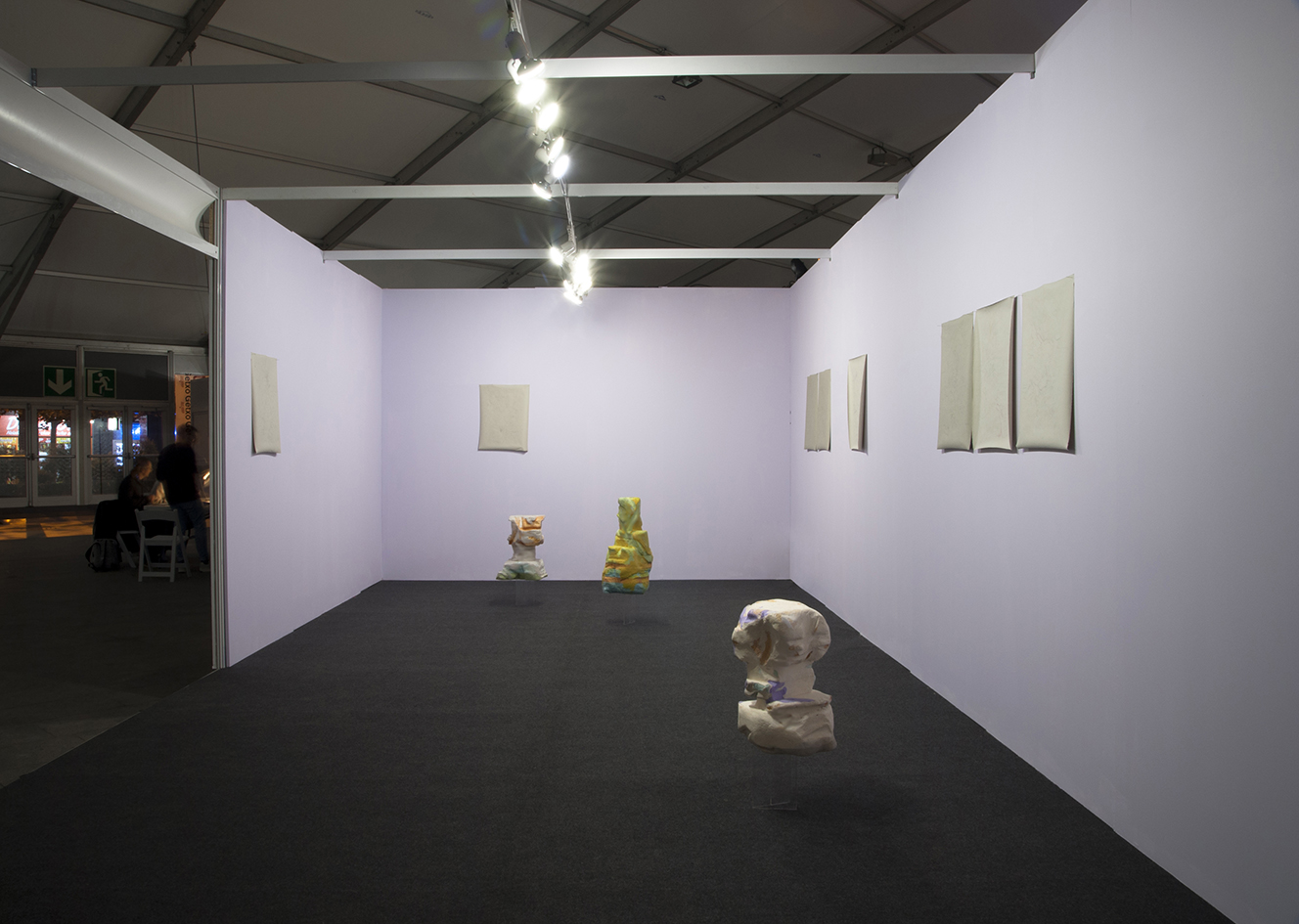 2017 installation view at Getxoarte w/ Salón Bilbao ES