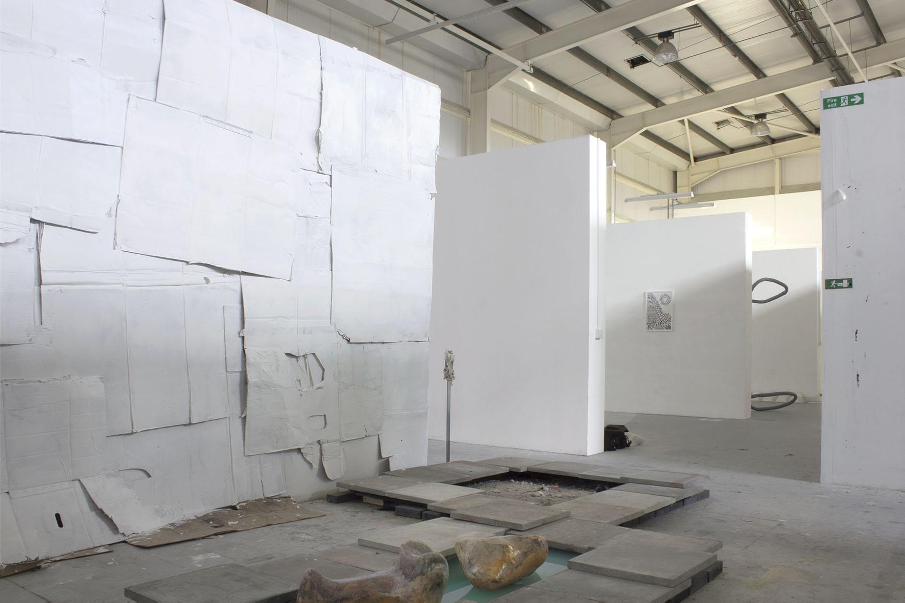 2019 Installation views at Asquith Gibbs Building Deptford  interim show MFA Fine Arts, University of Goldsmiths London UK