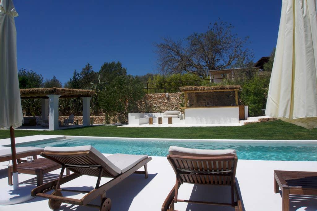 Poolside at Ses Palmeres Ibiza