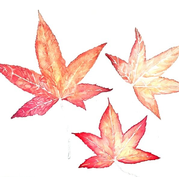 Autumn leaves  SOLD