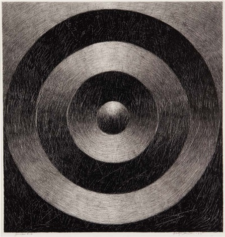 JANUS I2, 1995   charcoal on paper 30 x 29 in.