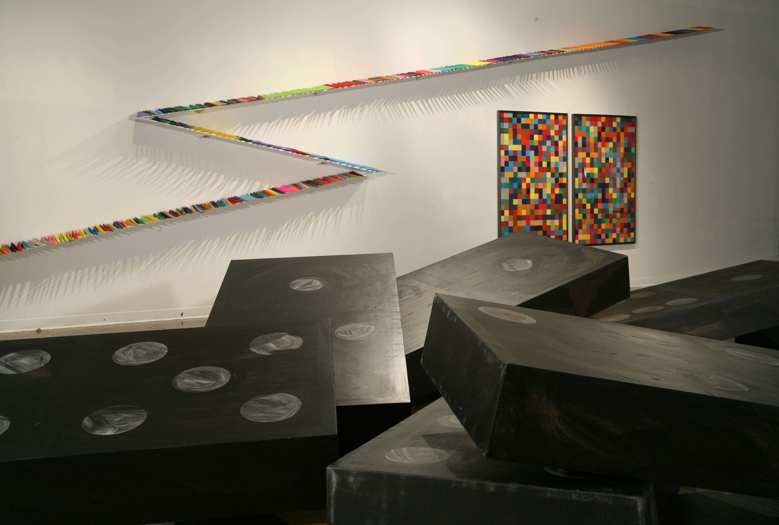 Doyle Gertjejansen    Domino Theory ,2006   Delgado Fine Arts Gallery, New Orleans, LA