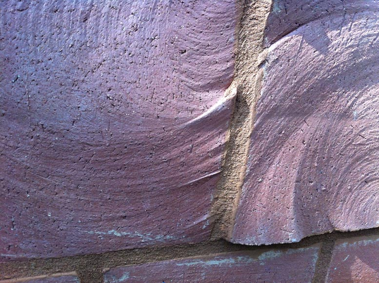 Close up of brickwork