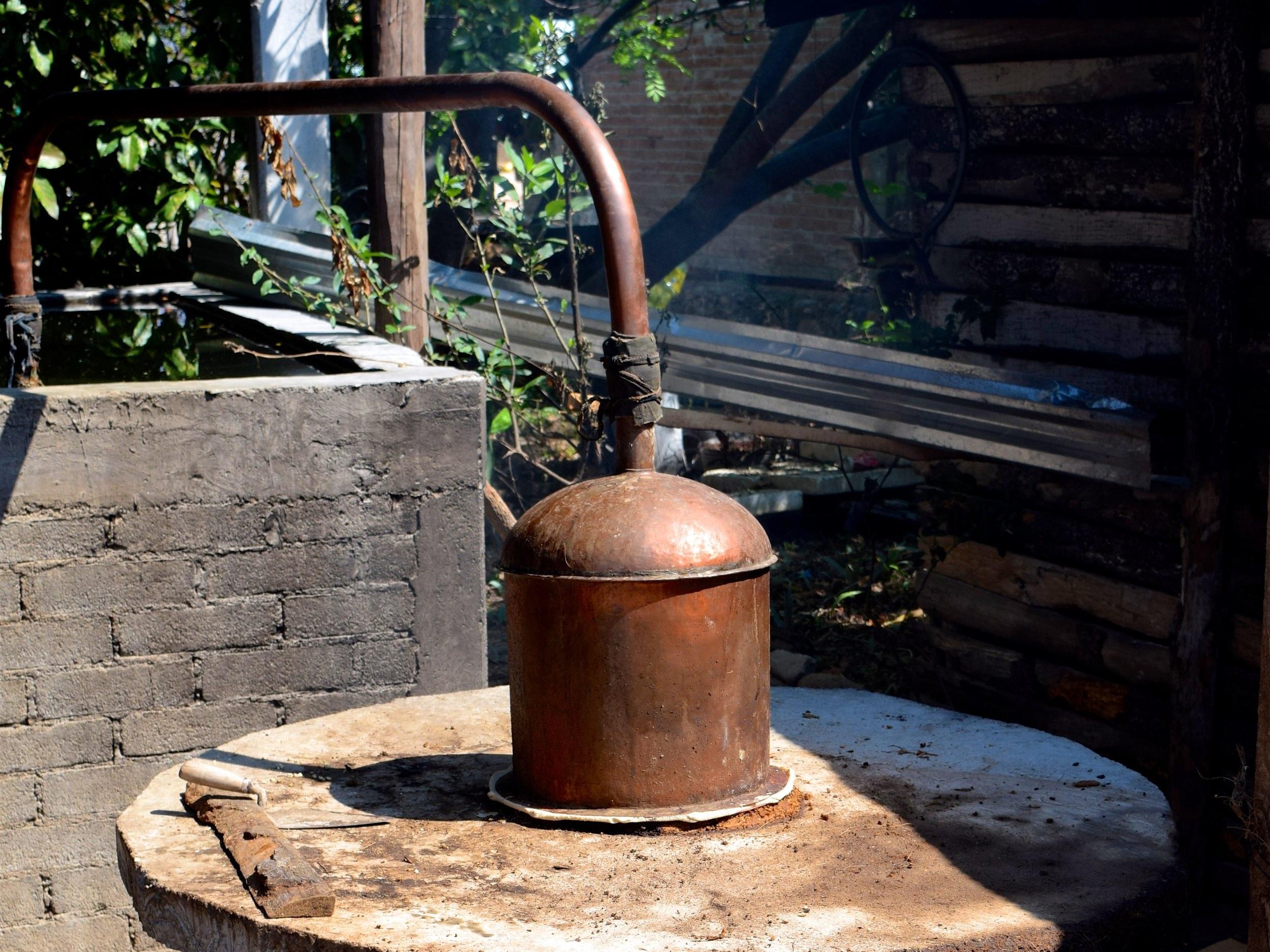250 Litre Copper Alembic
