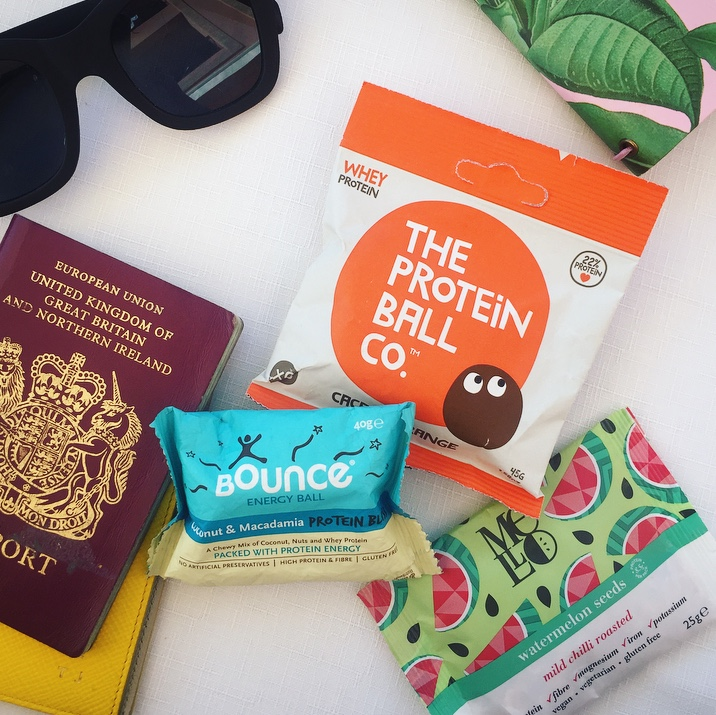 Travel buddies: Snack packs will help you avoid plane food AND mini bar price hikes