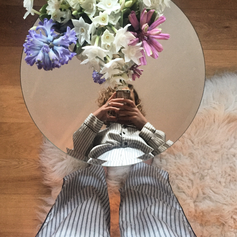 Grandma: Embracing winter with real PJs and seasonal blooms