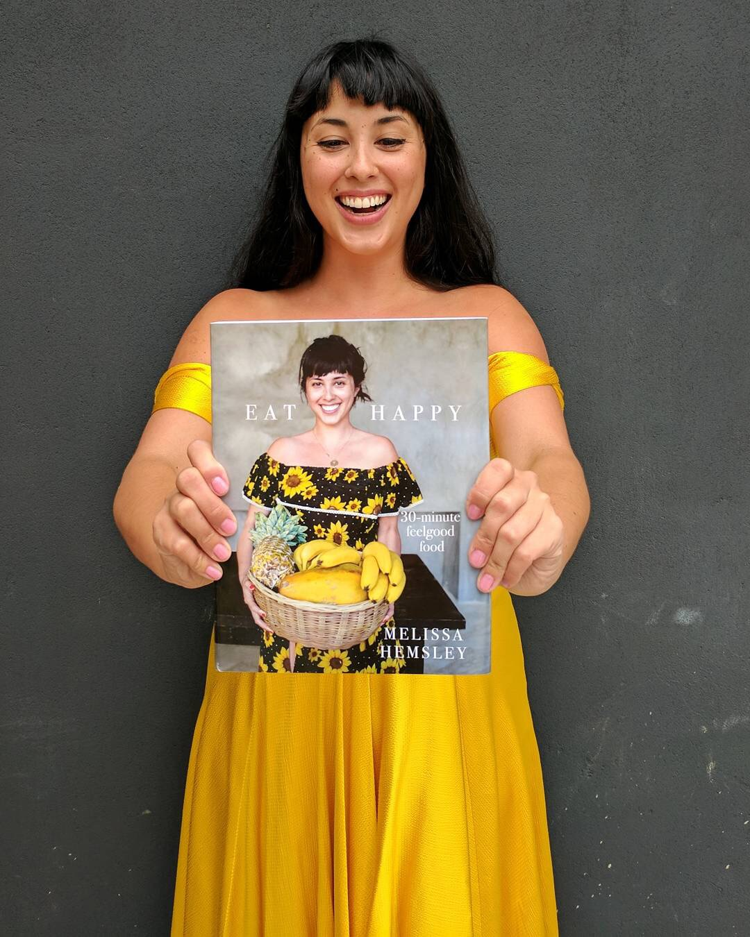 Melissa Hemsley: A walking, talking, sunny-dress wearing advert for eating happy, and appearing at Shelf Help/High Road House in April