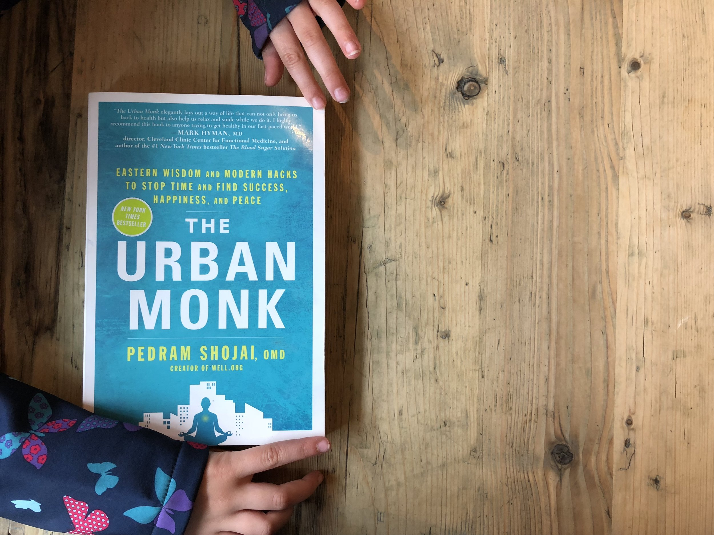 THE URBAN MONK - By Pedram Shojai