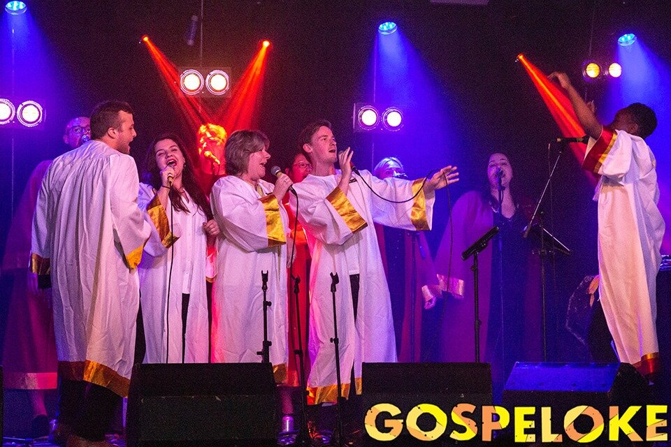 """Gospeloke: """"A ceremonial and truly euphoric happening�"""