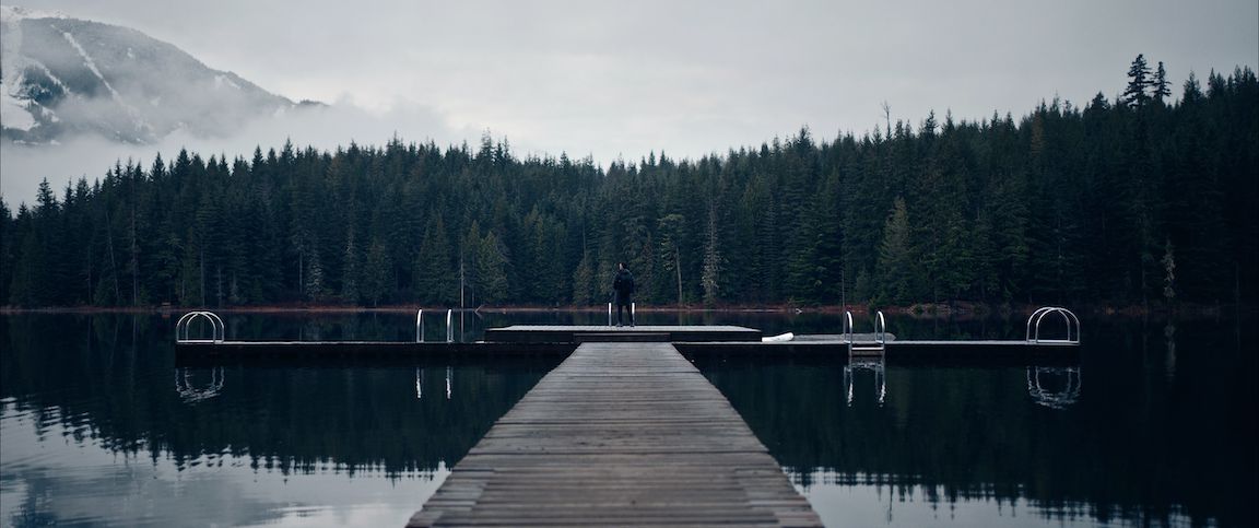 The shot that became the poster for Episode 1 - Minh at Lost Lake