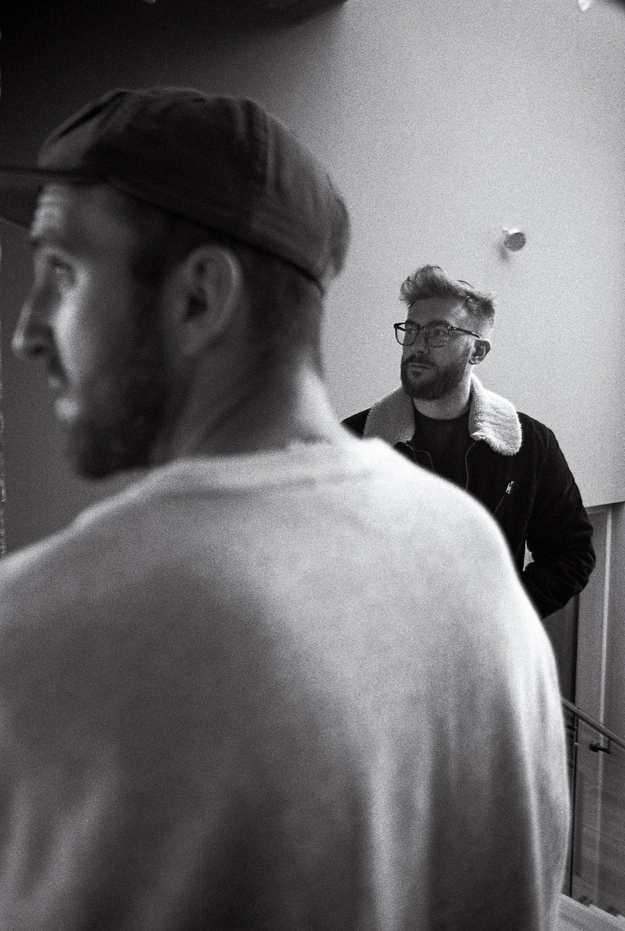 Alex looking mildly intrigued.