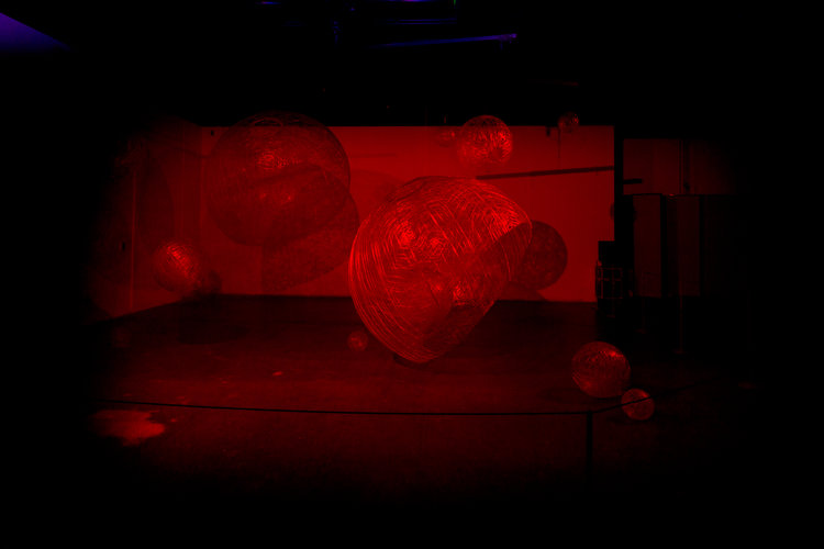 Projection Red Light