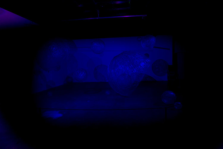 Projected Blue Light