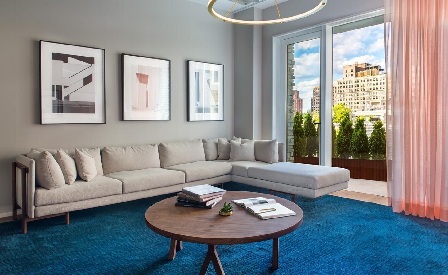 12 Warren is the latest boutique residential scheme in New York by developer DDG.  Photography: Robert Granoff