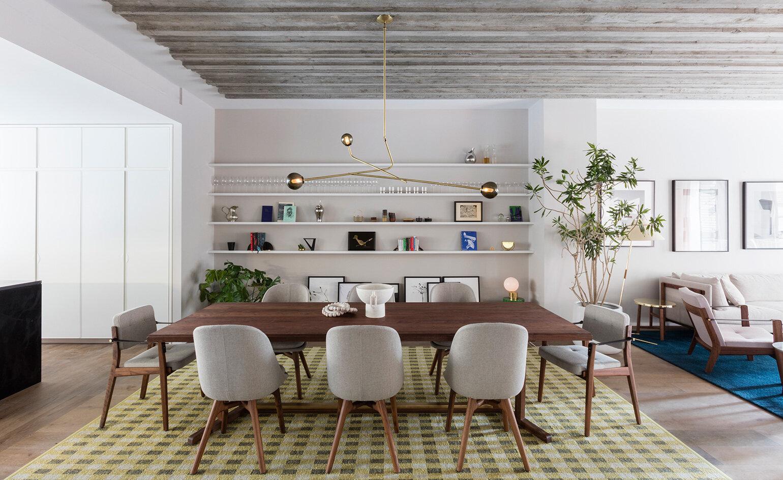 Pictured: 12 Warren's model apartment. Photography: Lauren Coleman