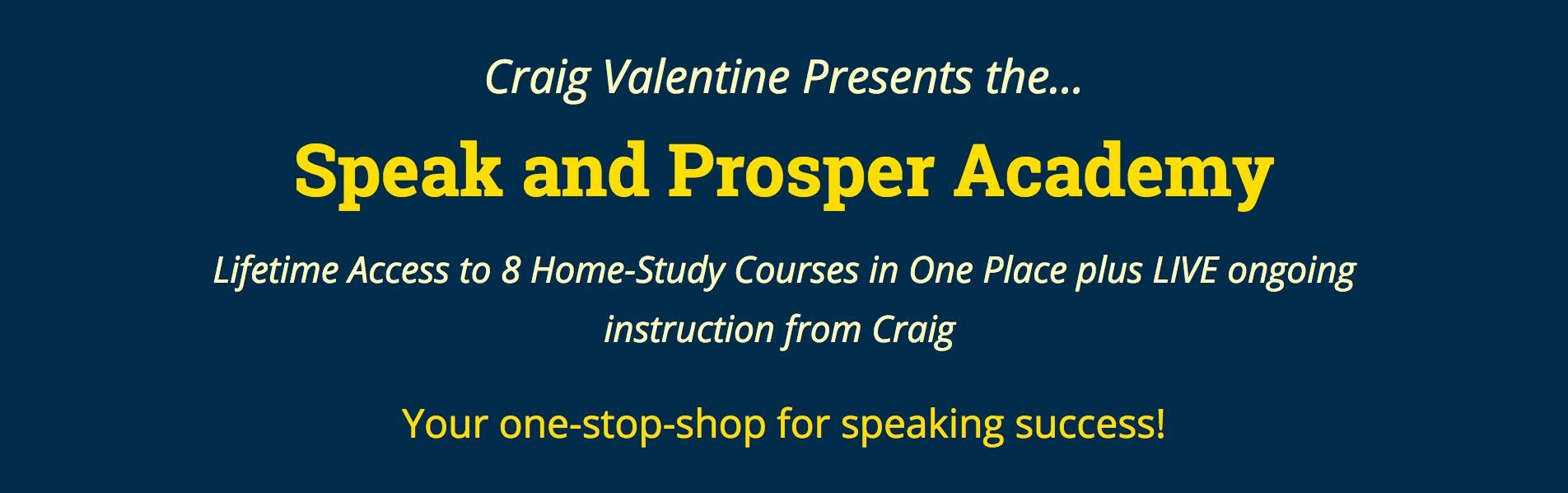Speak and Prosper Academy Craig Valentine.png
