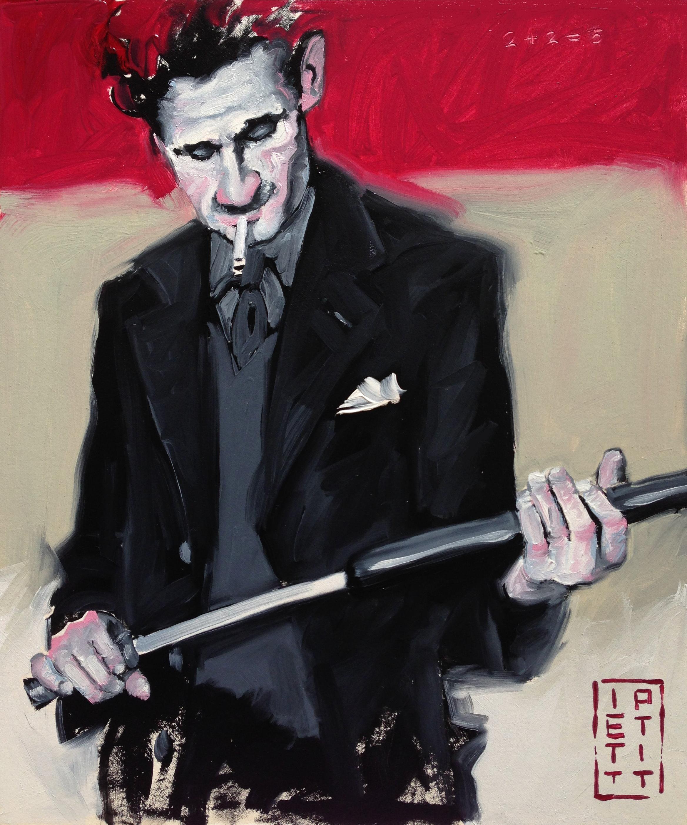 George Orwell (Oil 10 X 12 inch)