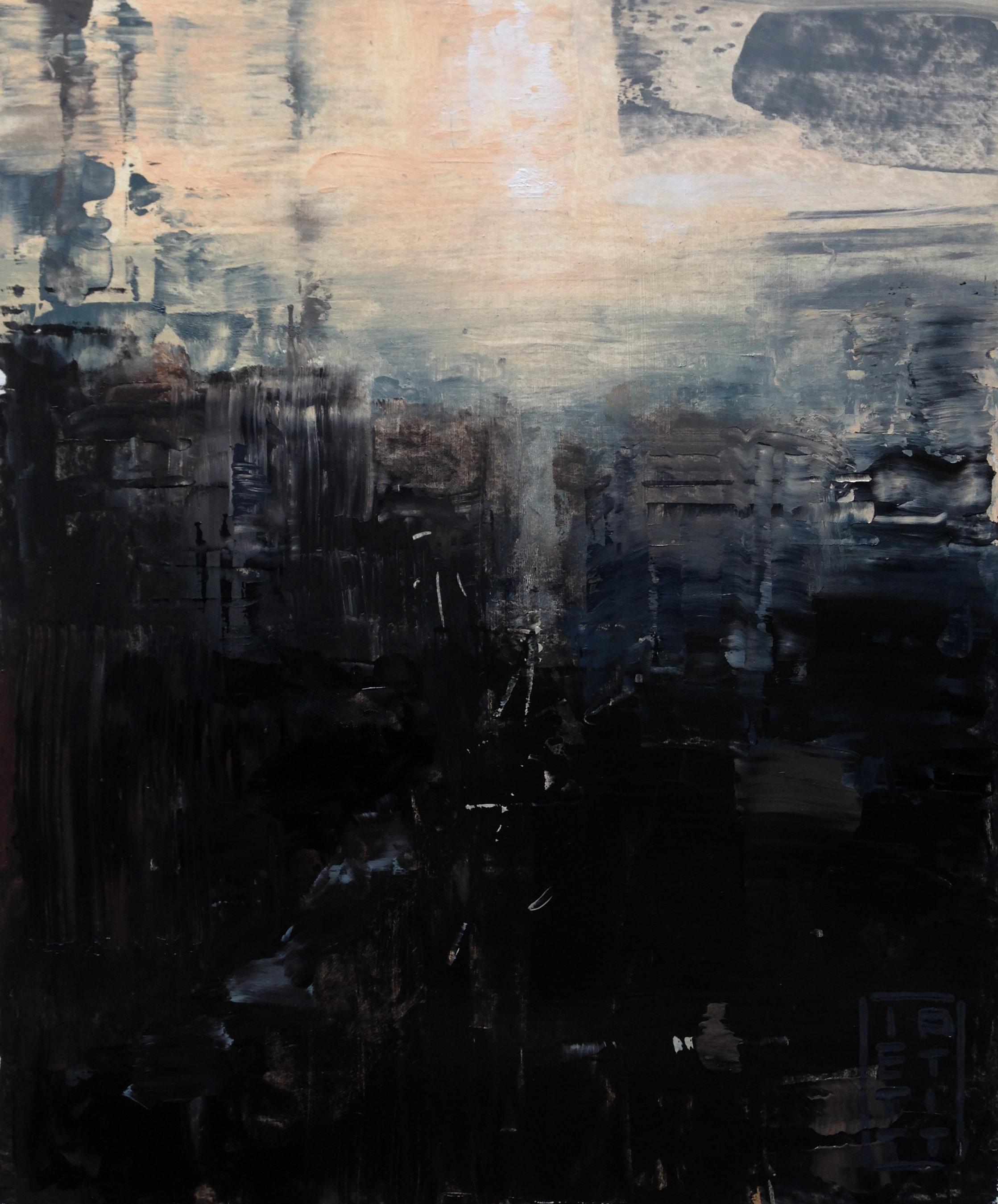 Skyline (Oil 10 X 12 inch)