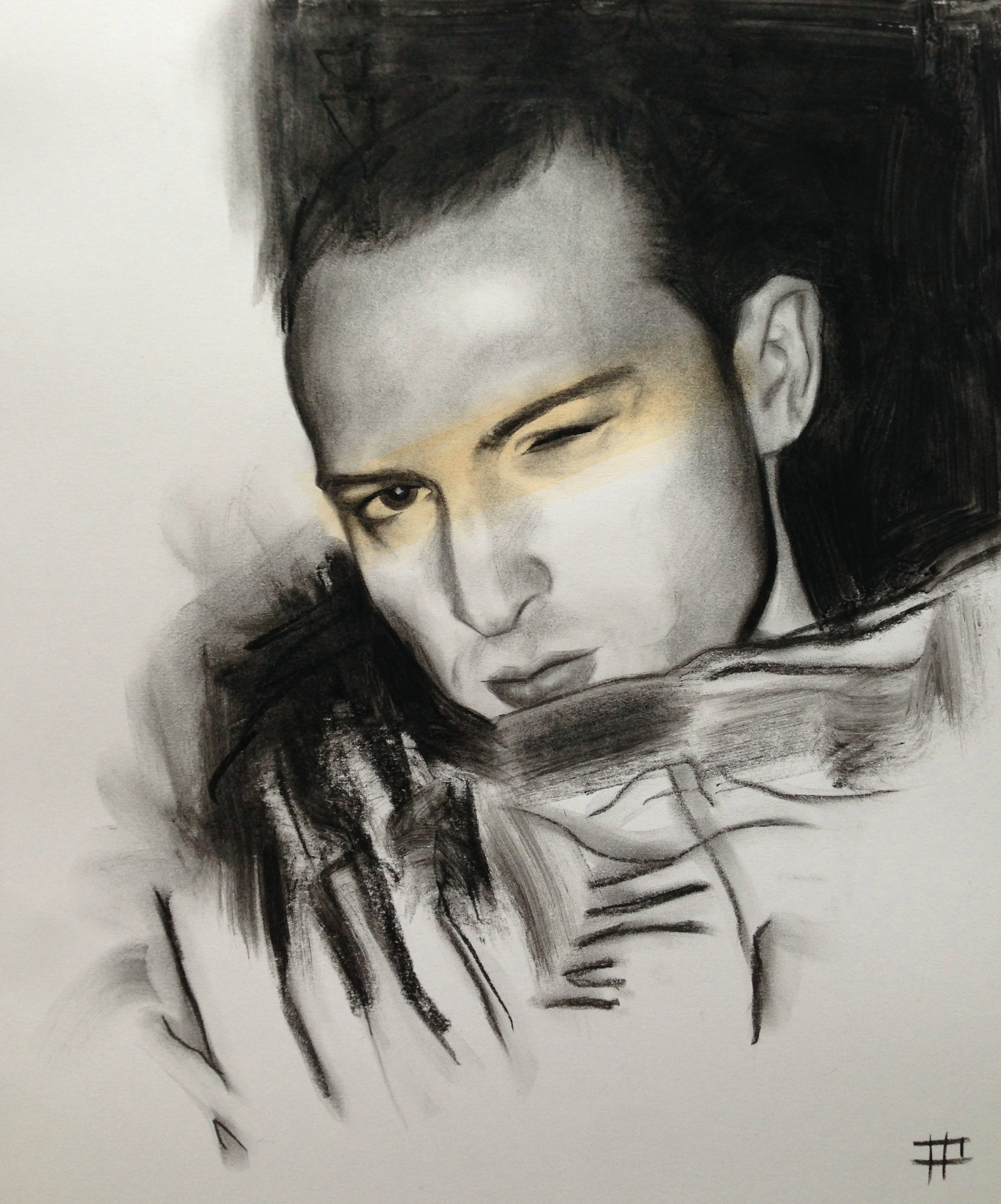 Inch (Charcoal 10 X 12 inch)