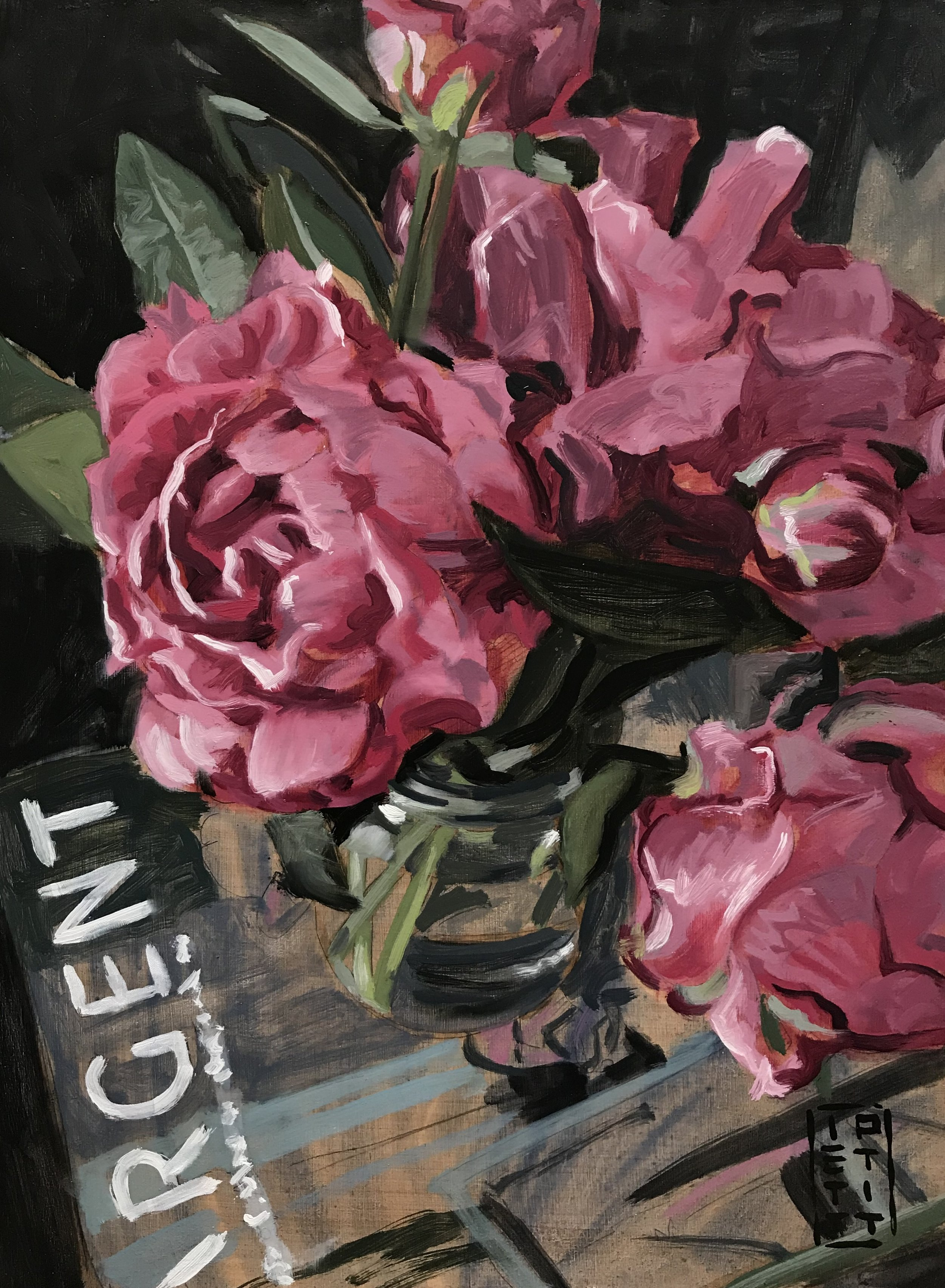 Sargent (Oil 12 X 16 inch)