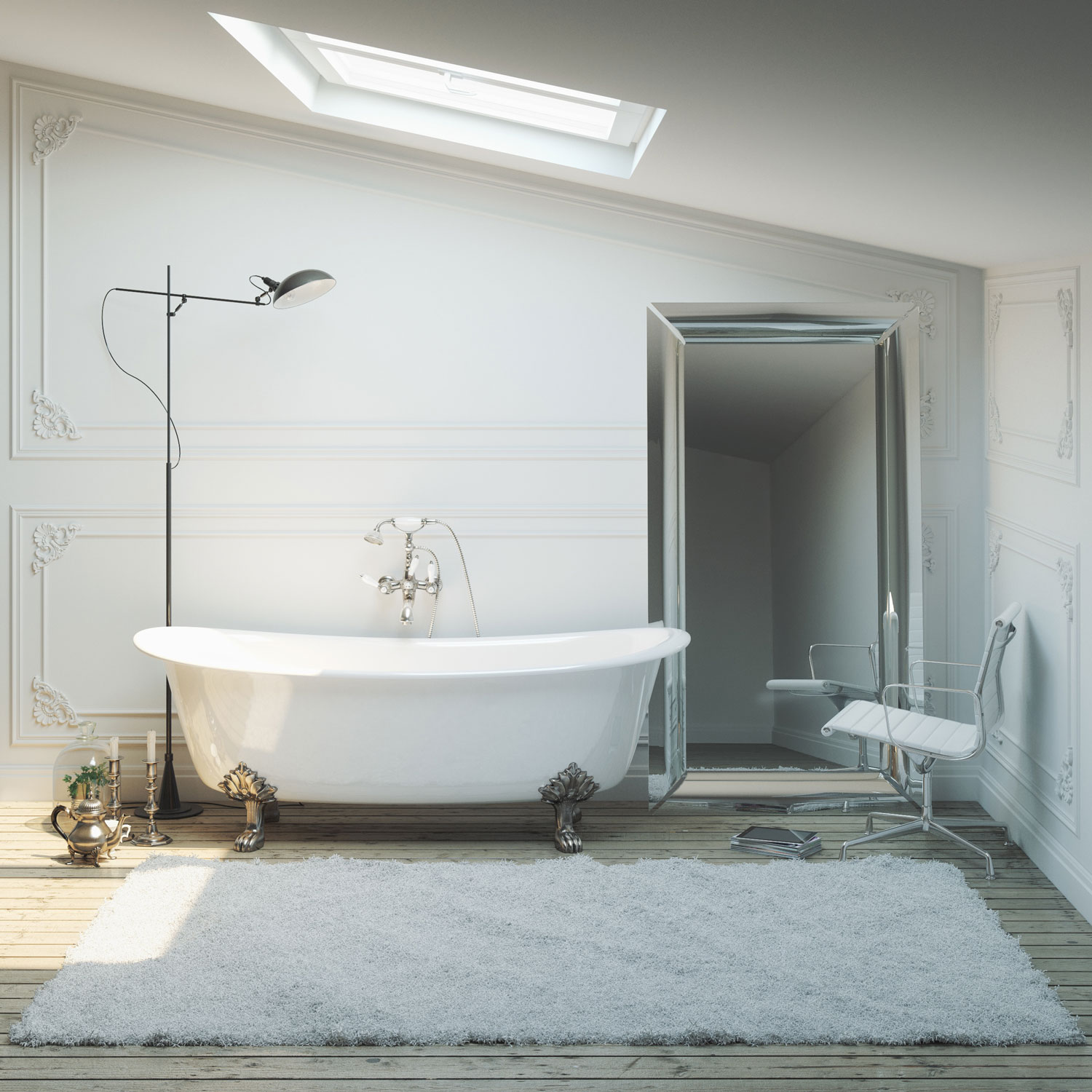A touch of Elegance. - Traditional bathrooms have increased in popularity in recent years as they add a touch of elegance to any home.If you live in a period property and would like the style and character of your home to flow throughout we can create the perfect traditional bathroom with styles from periods such as Georgian, Victorian and Edwardian.Traditional bathrooms allow you to relax and unwind in luxury with freestanding baths and pedestal basins.