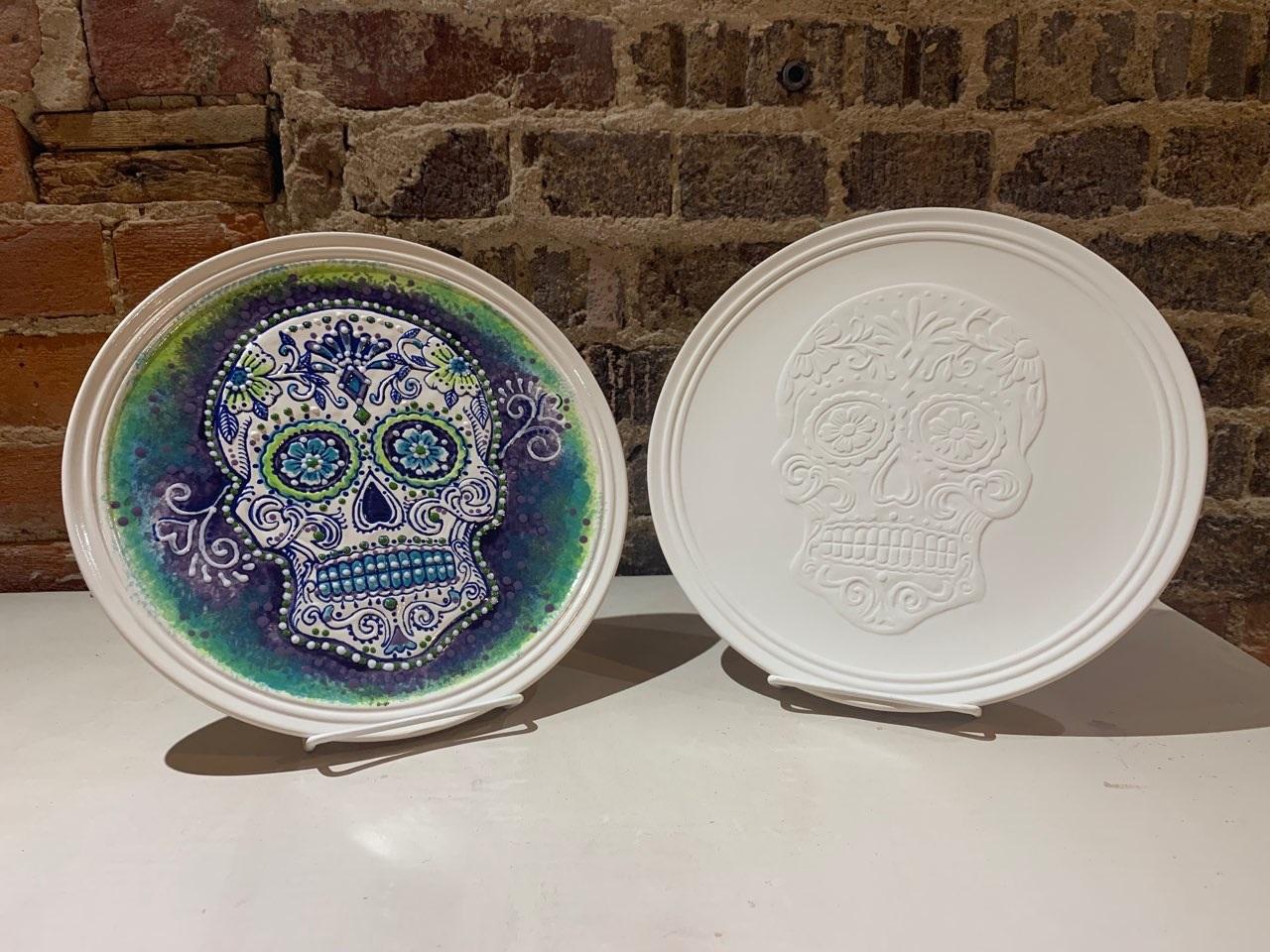 sugar skull plate class.jpg
