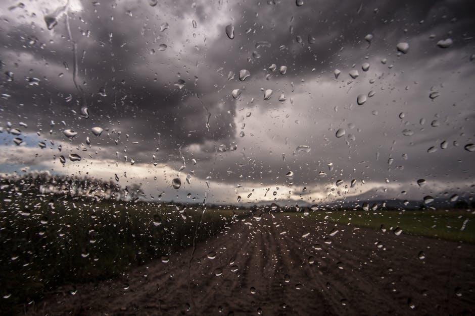 Dreich - dreary, rainy, gloomy