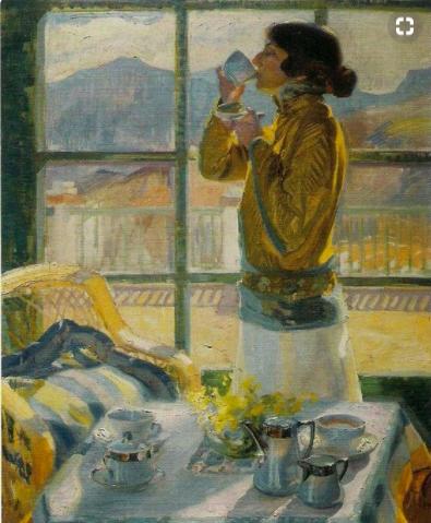 Francisco Pons Arnau, Clotilde Drinking Tea