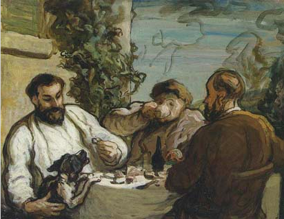 Lunch in the Countryside, Daumier