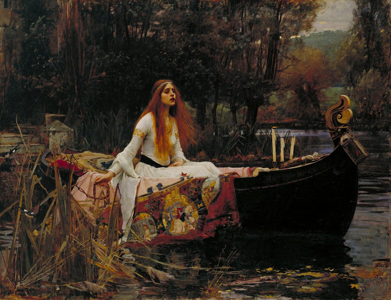 The Lady of Shallot, John William Waterhouse, 1888.