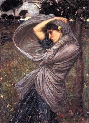 Boreas, John William Waterhouse, 1903