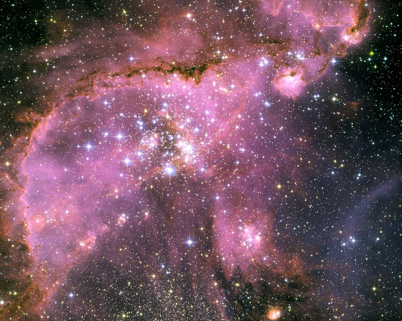 Star cluster NGC 346, Hubble Space Telescope
