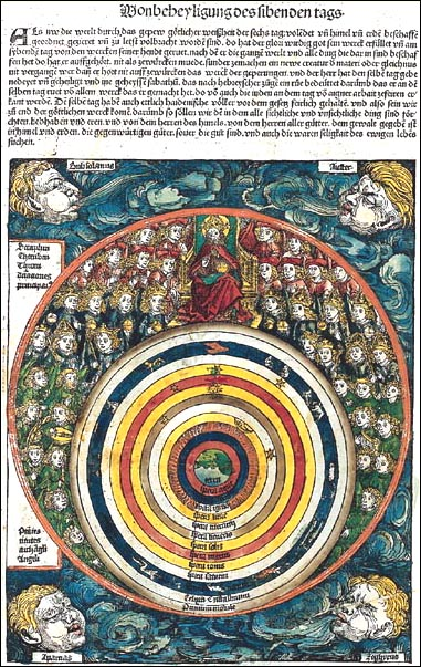 Creation of the World,  Nuremberg Chronicles, 1493